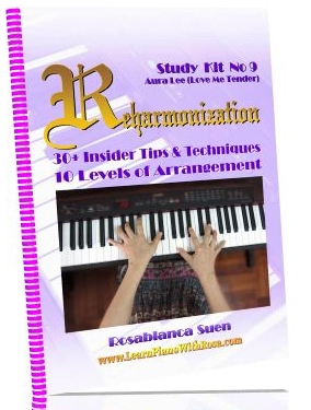 Reharmonization Kit 9 Aura Lee (Love Me Tender)
