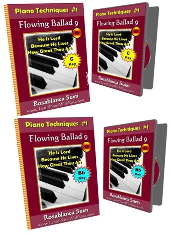 Bundle of 2 Ballad Flowing 9