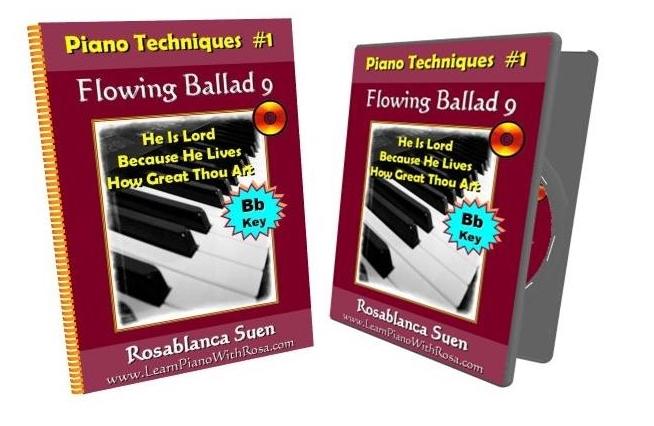 Piano Technique BbKey Flowing Ballad 9