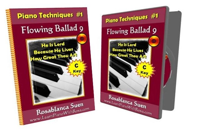 Piano Technique1 Flowing Ballad 9 C Key