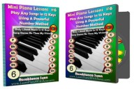 Mini Piano Lesson #6: Learn this Powerful Number Method To Play Any Song in All 12 Keys with Just One Sheet Music!