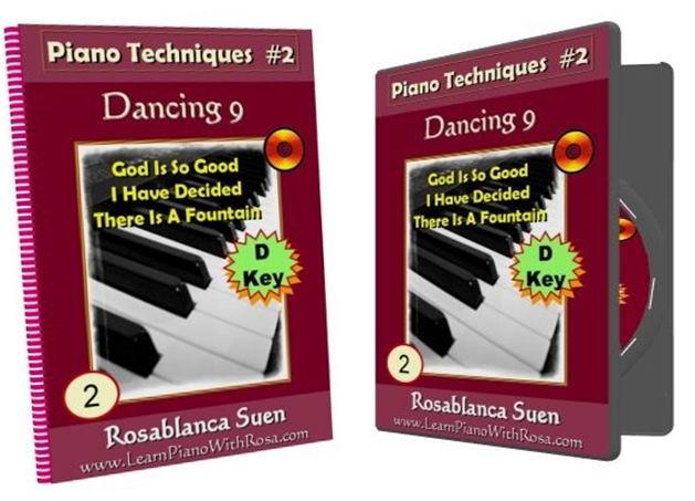 Piano Technique 2 - Dancing 9 - D Key