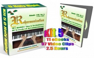 Reharmonization Method 1 – Kit 5 – O Holy Night
