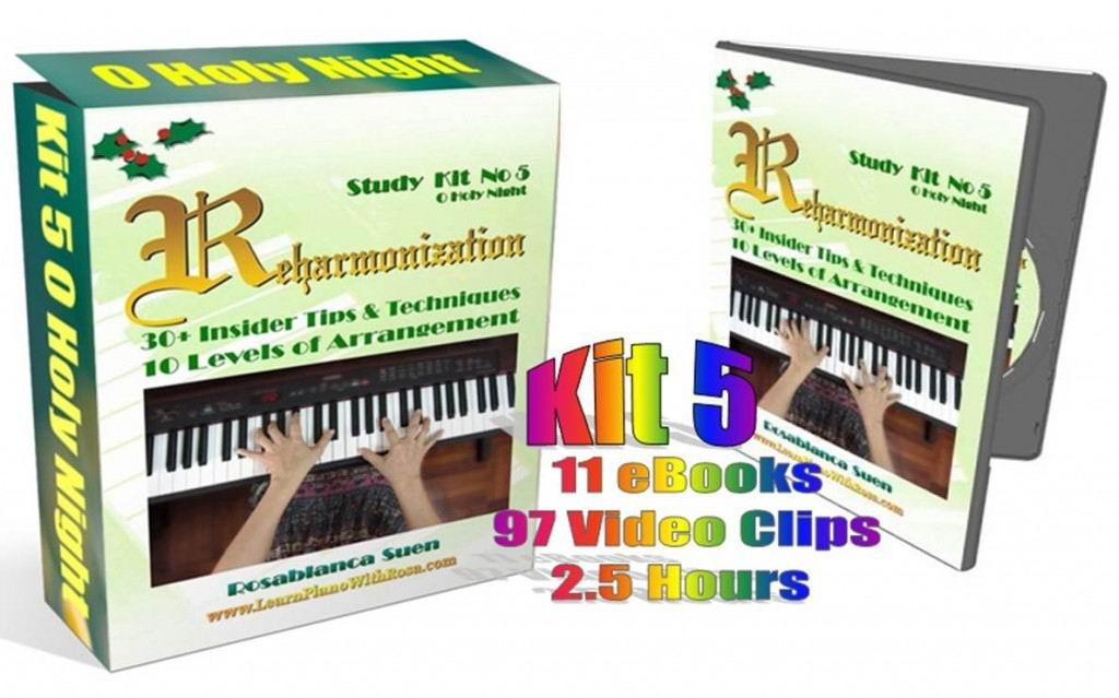 Reharmonization Method1 Kit 5 - O Holy Night
