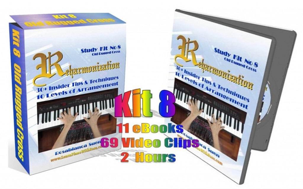 Reharmonization Piano Course - The Old Rugged Cross