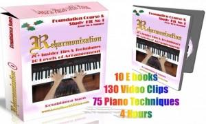 Reharmonization Method 1 Kit 1 – Foundation Course – Away In A Manger