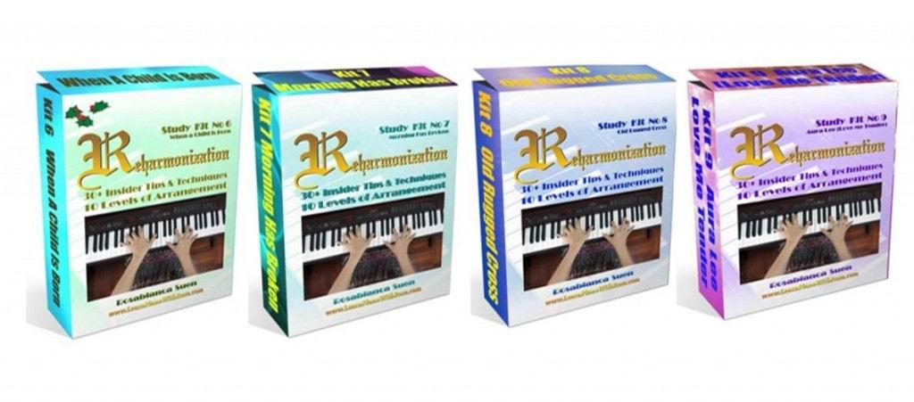 Reharmonization Method Bundle of 4 - Kits 2 to 9